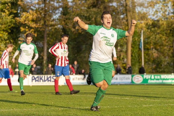 Onverzettelijke Danny Schaap redt periodetitel voor Woudrichem tegen Roda Boys