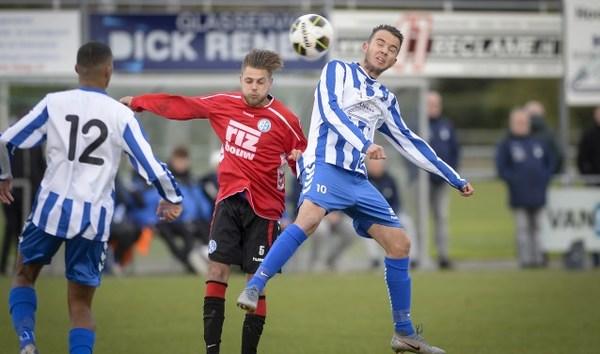 SV Lopik verslaat Schoonhoven in rommelig duel