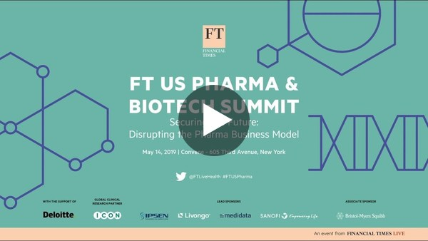 FT US Pharma and Biotech Summit - Panel - Delivering on the potential of Personalized medicine