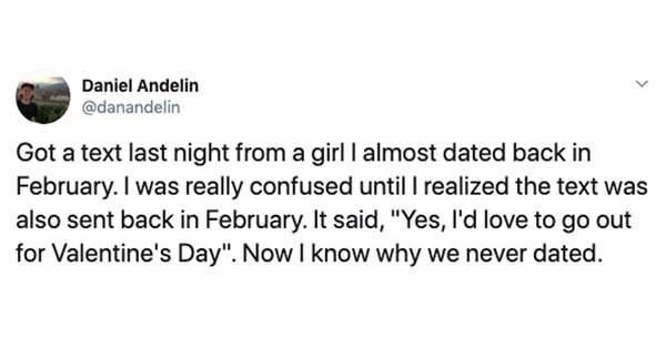 """In True Modern Love Style, The Mystery Of The Valentine's """"Ghost Texts"""" Is Finally Solved"""
