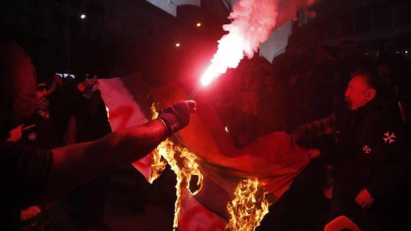 Rellen bij première van Georgische homofilm   NOS