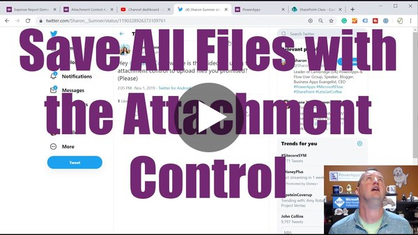 PowerApps Attachment Control - Upload All Files not Images Only to Azure Blob Storage