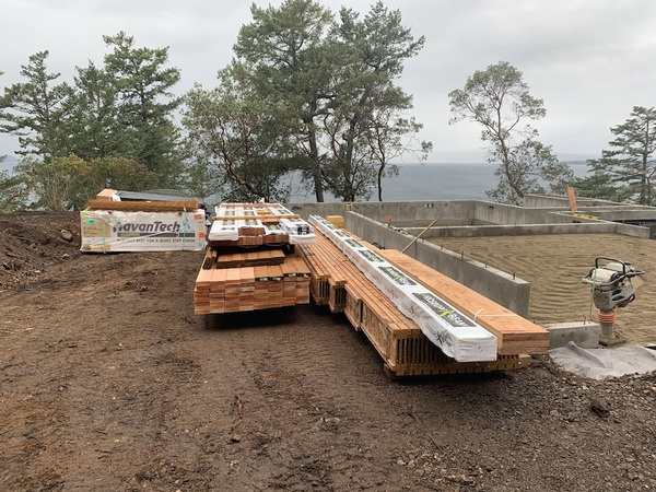 The First Shipment of Lumber