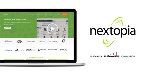 Scaleworks Acquires Nextopia, Leader in Real-time E-commerce Recommendations and Personalization