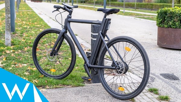 Deze elektrische fiets bedien je met je smartphone | Cowboy e-bike review | WANT