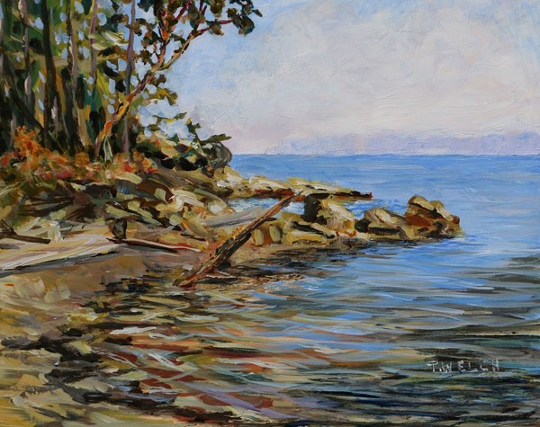 """Oyster Bay Morning"" by Terrill Welch - SOLD"