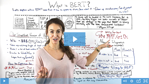 What Is BERT? - Whiteboard Friday - Moz