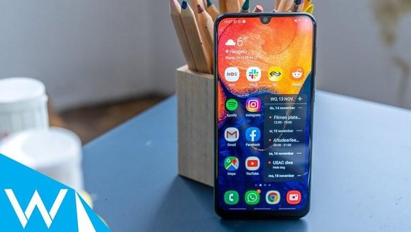 Samsung Galaxy A50 review | Budgetsmartphone is veilige keuze | WANT