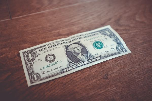 One dollar is not enough. Photo by NeONBRAND