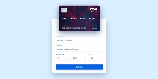 GitHub - muhammederdem/vue-interactive-paycard