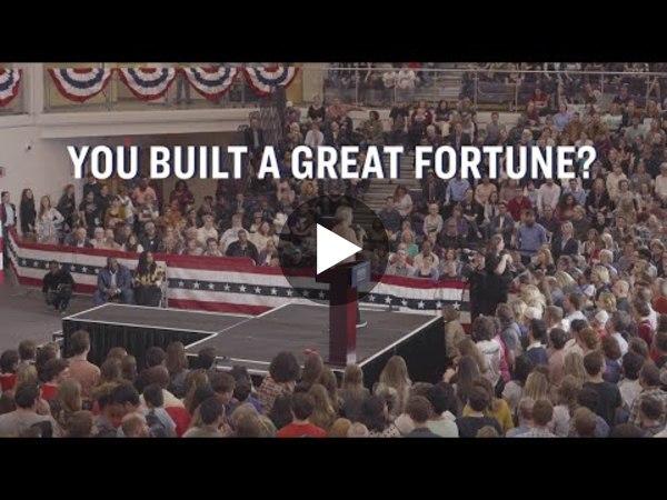 Elizabeth Warren Stands Up to Billionaires