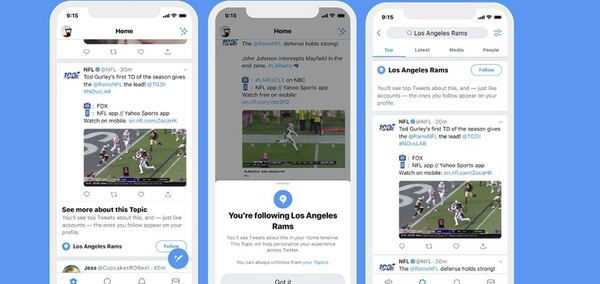 Twitter Launches New Option to Follow Specific Topics, in Addition to User Accounts