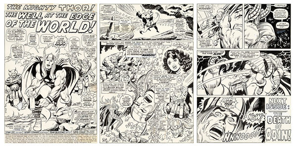 John Buscema - Thor Original Art