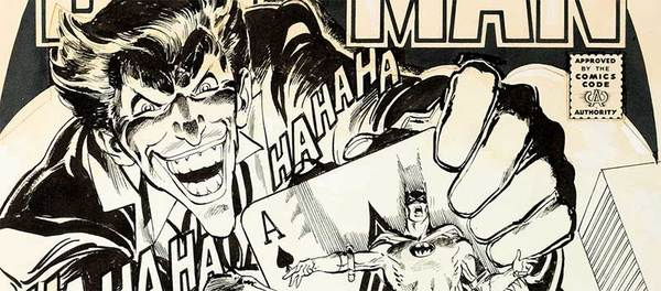 Neal Adams - Batman #251 Original Cover Art