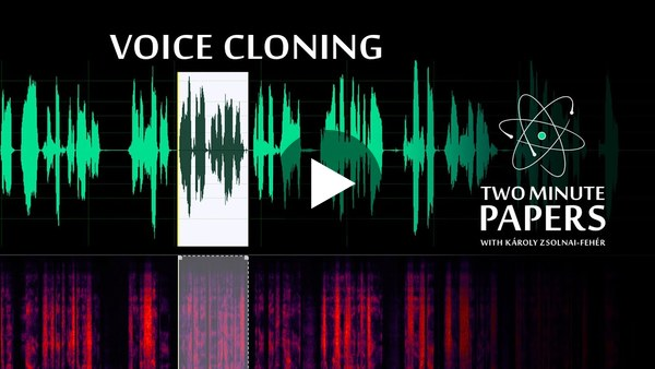 This AI Clones Your Voice After Listening for 5 Seconds -- Thanks Duco Berghuis!