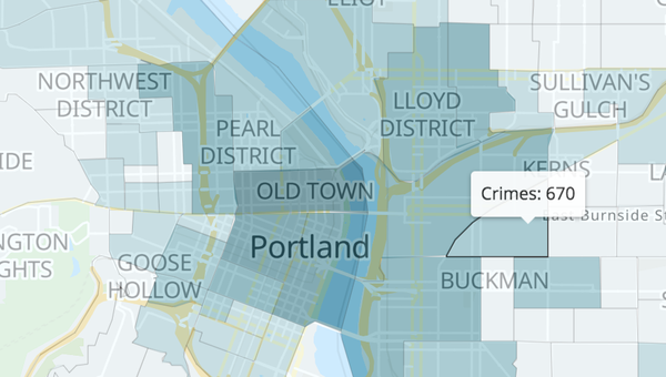 AWS Athena helps to find the worst place to park your car in Portland