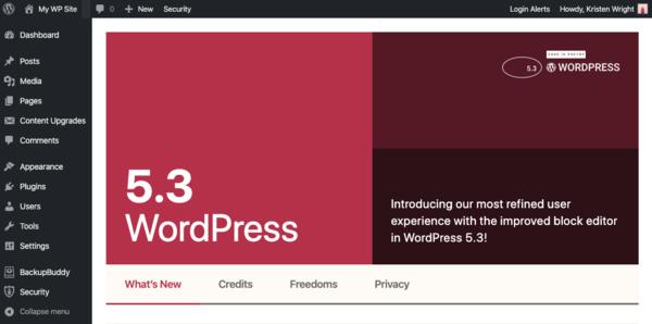 New in WordPress 5.3...