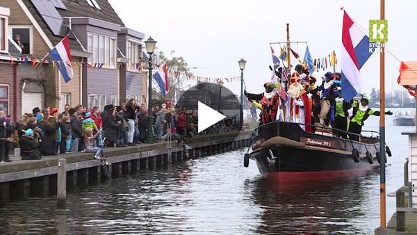 Intocht Sinterklaas in Roelofarendsveen (video)