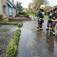 Veense brandweer rukt uit voor gaslek Leimuiden