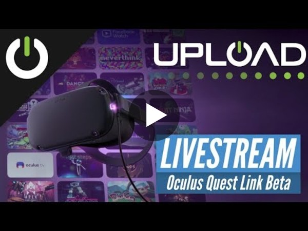 Our friends at UploadVR show how Oculus Link works on the Quest.