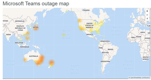 Microsoft Teams and other Office 365 services start coming back online after untimely outage