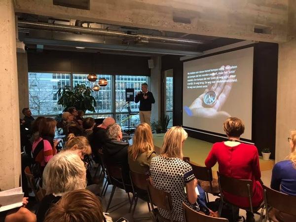 Ron van Es bespreekt zijn boek 'Het is tijd' op Purpose Day