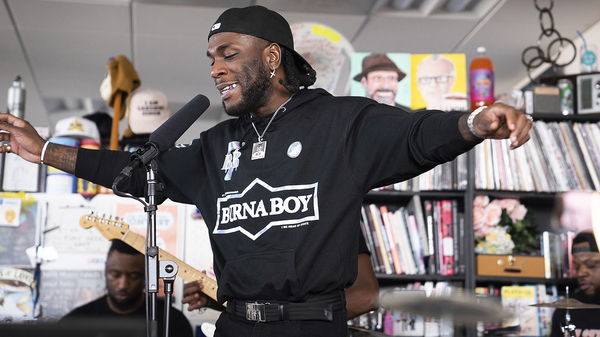 Watch Burna Boy Play The Tiny Desk