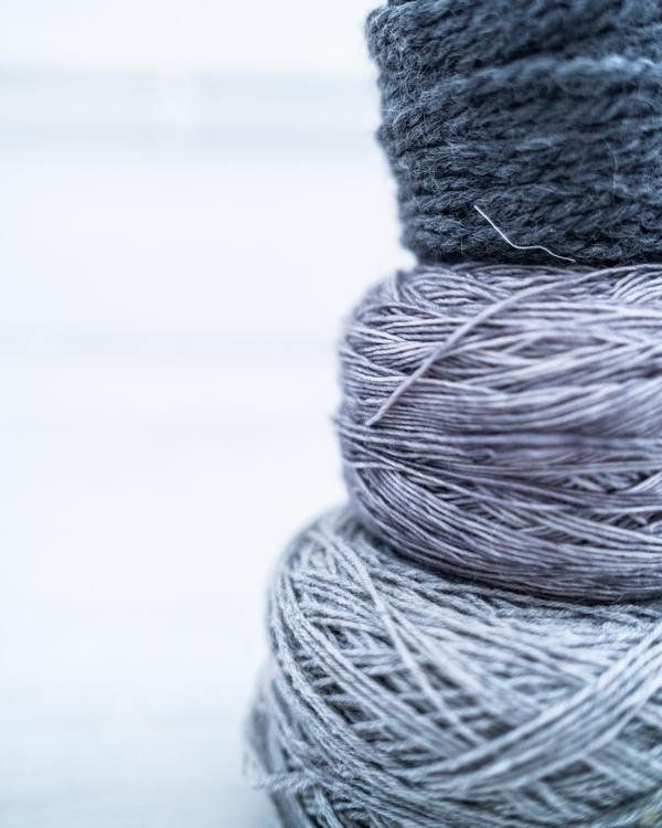 This is the best free photo of an interconnected yarn blob I could find.
