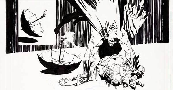 Eduardo Risso - Batman Original Art