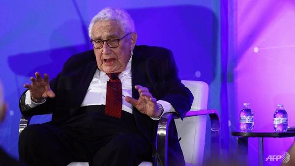 US-China trade war could spark real war: Kissinger
