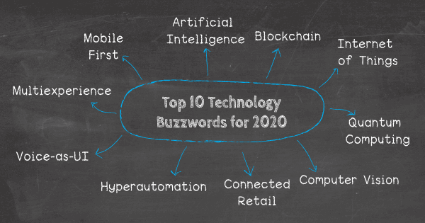 Top 10 IT & Technology Buzzwords You Won't Be Able To Avoid In 2020