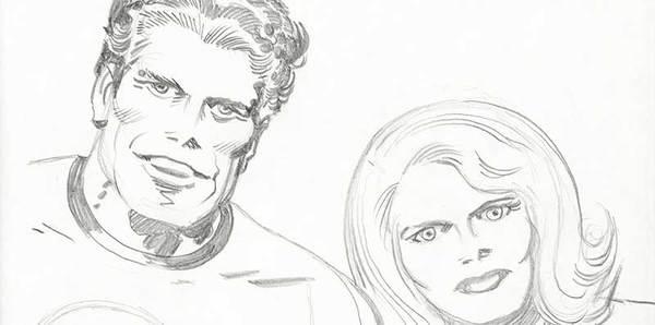 Jack Kirby - Fantastic Four Original Sketch