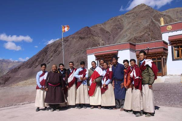 Our Tibetan Doctors with Colleagues in Ladakh