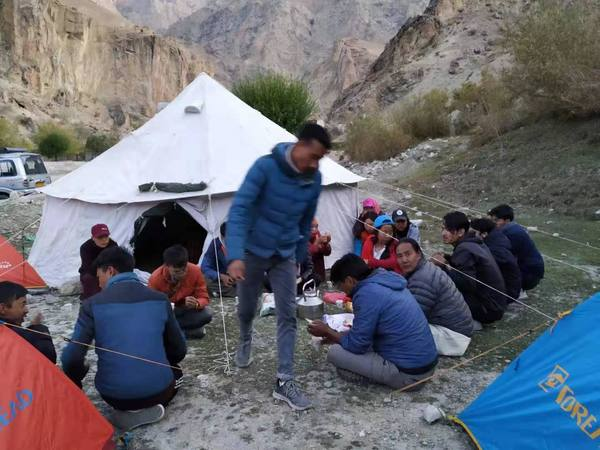 Our Tibetan Doctors during Field Research in Ladakh