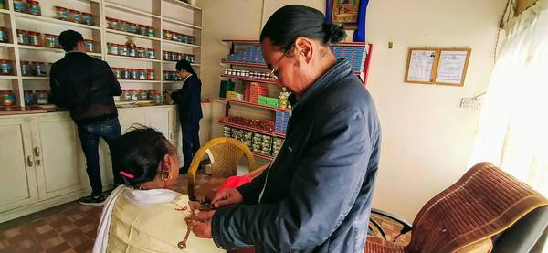 Traditional Sowa Rigpa Clinic near Boudha