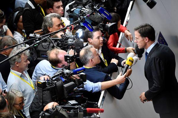 Premier Rutte komt altijd naar Brussel