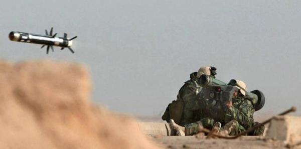 Zelensky had in het telefoongesprek van 25 juli met Trump om Javelin anti-tankraketten gevraagd (foto: Reuters)