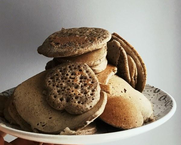 Pancakes vegan moelleux sans gluten