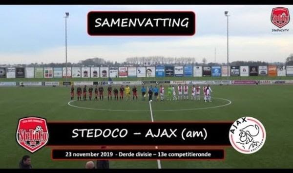 Ruime zege SteDoCo op Ajax