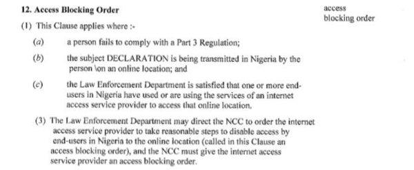 The government can order a social media/ internet shut down a la N. Korea