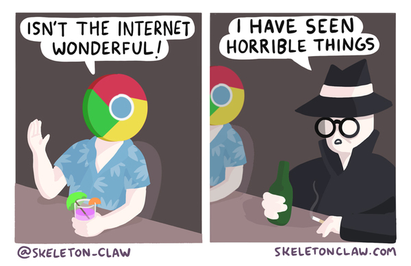 Incognito Mode - Credit: SkeletonClaw
