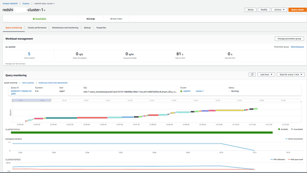 Simplify management of Amazon Redshift clusters with the Redshift console   Amazon Web Services