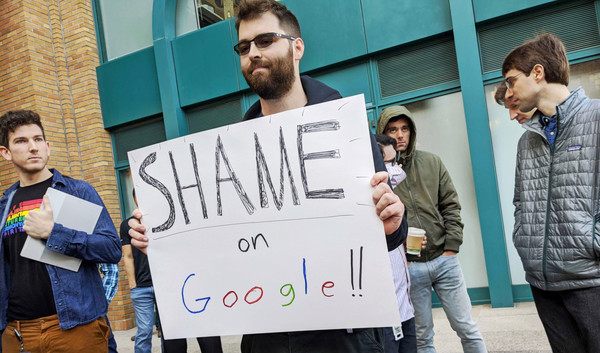 Google fires activist Rebecca Rivers and 3 others