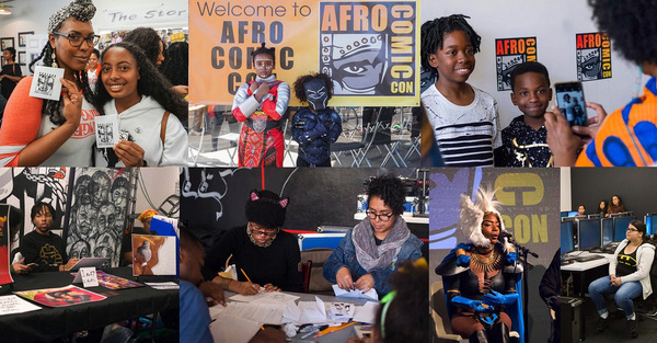 AfroComicCon Offers a Platform for Diversity in Pop Culture | Afro