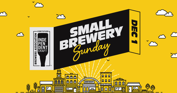 Celebrate Inaugural Small Brewery Sunday on December 1
