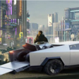 Tesla Cybertruck in Cyberpunk 2077? Het zou zomaar kunnen! - WANT