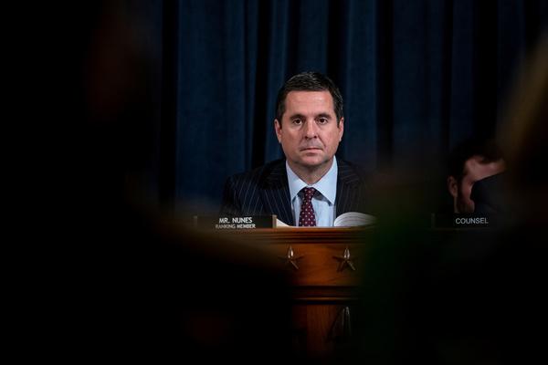Het Republikeinse Congreslid Devin Nunes (foto: Reuters)