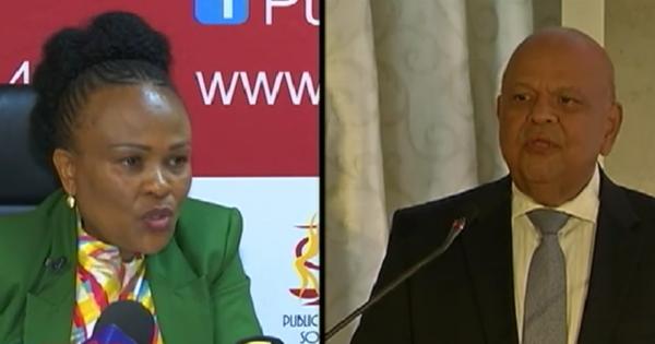 Mkhwebane, EFF, Gordhan standoff goes to Constitional Court | eNCA