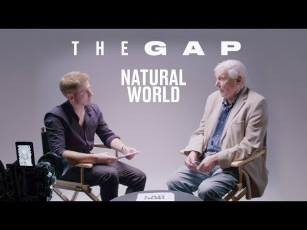 Sir David Attenborough Meets A Young Naturalist | The Gap