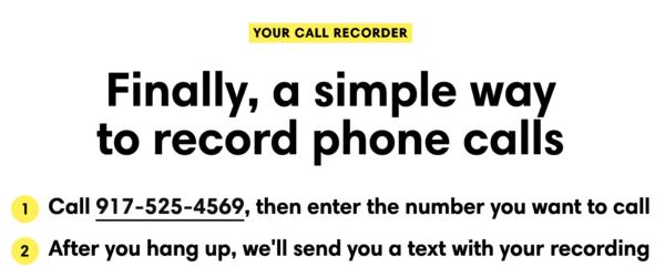 Free Phone Call Recordings